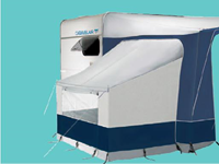 Eurovent Bedroom Annex (pack) - Caravan Awning Accessories