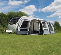 Kampa Caravan Rally Air Pro 390 Plus Left - Rally Air Pro