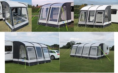 Clearance Awnings Kampa Rally Pro 260 - 2013 Model