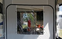 Isabella Partition Panel With Window - Caravan Awning Accessories